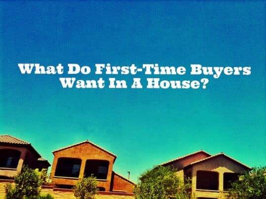 What Do Younger Buyers Look For In A House?